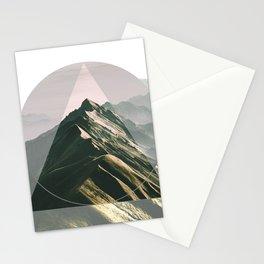 Mountain Peak Stationery Cards