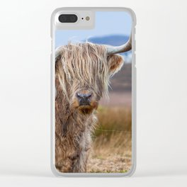 Moo? Clear iPhone Case