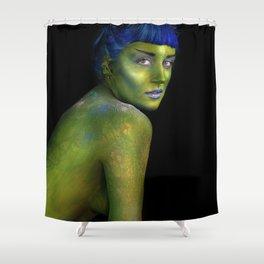 Eco Pornography Shower Curtain