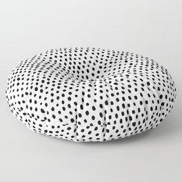 Polka dot rain Floor Pillow
