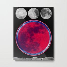 Lua Metal Print