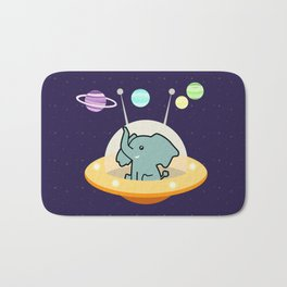 Astronaut elephant: Galaxy mission Bath Mat