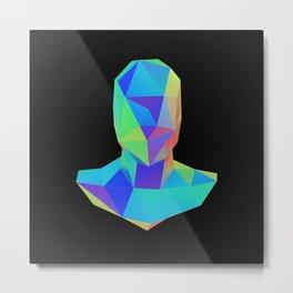 Bust Metal Print