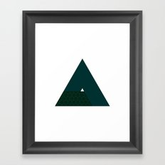 #223 The sum of its parts – Geometry Daily Framed Art Print