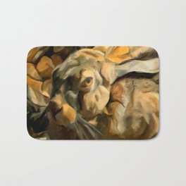 Splitting Hares Bath Mat