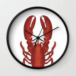 THE LONE LOBSTER Wall Clock