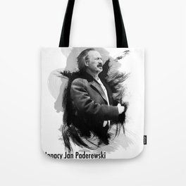 Ignacy Jan Paderewski - Polish Prime Minister, Polish Pianist Tote Bag