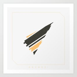 Omamori Art Print