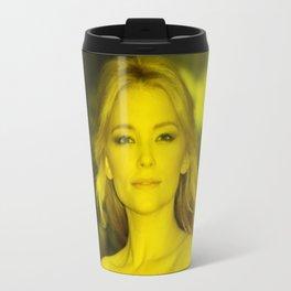 Haley Bennett - Celebrity (Florescent Color Technique) Travel Mug