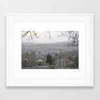 england Framed Art Prints featuring England by JamieTambor