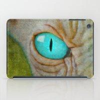 sphynx iPad Cases featuring Sphynx by BruceStanfieldArtist.DarkSide