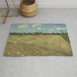 Ploughed fields ('The furrows') Rug