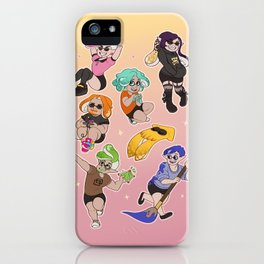 Kids and Squids - Gamer Edition iPhone Case