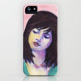 Bella in Peony iPhone Case