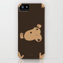 Hanging Monkey iPhone Case