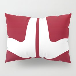 Striped Tomato Pillow Sham