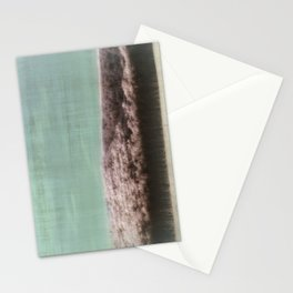 Abstract ~ Snowed landscape  Stationery Cards