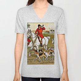 The Fox Jumped Over the Parson's Gate Unisex V-Neck