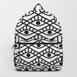 You are watched 2 (Geomteric Eye Pattern)  Backpack