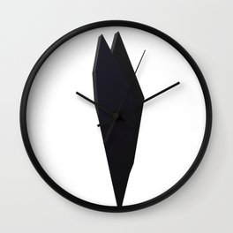 Abstract Re-Created Painting in Space Wall Clock