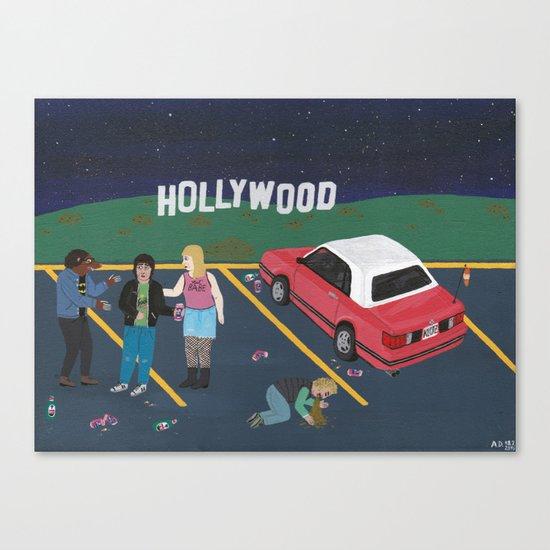 Lovers Lane Canvas Print