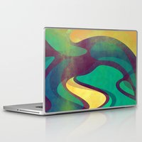 waves Laptop & iPad Skins featuring Waves by VessDSign