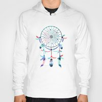 dream catcher Hoodies featuring Dream Catcher by Find a Gift Now