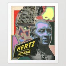 HERTZ Art Print