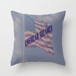 American Dreamer Throw Pillow