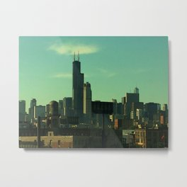 Portrait of a City Metal Print
