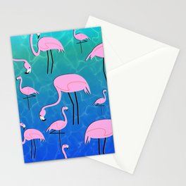 Flamingo Pond Stationery Cards