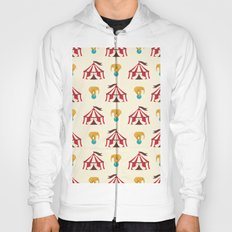 Circus With Performing Elephants Hoody