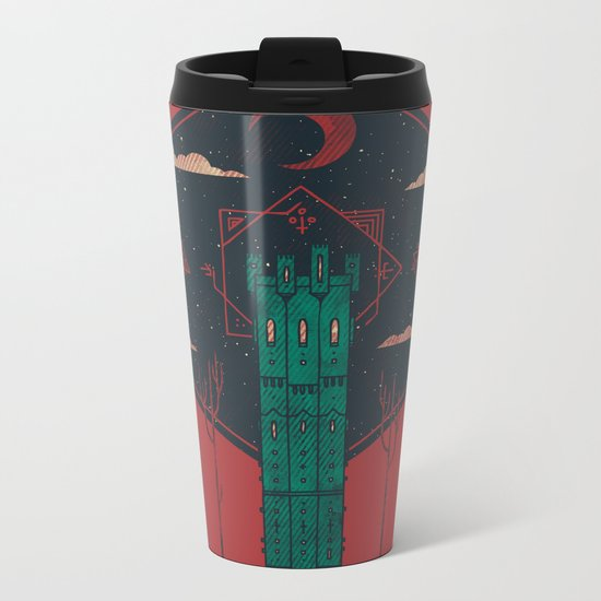 The Crimson Tower Metal Travel Mug
