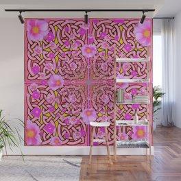 MYSTIC PINK CELTIC ROSE ART Wall Mural