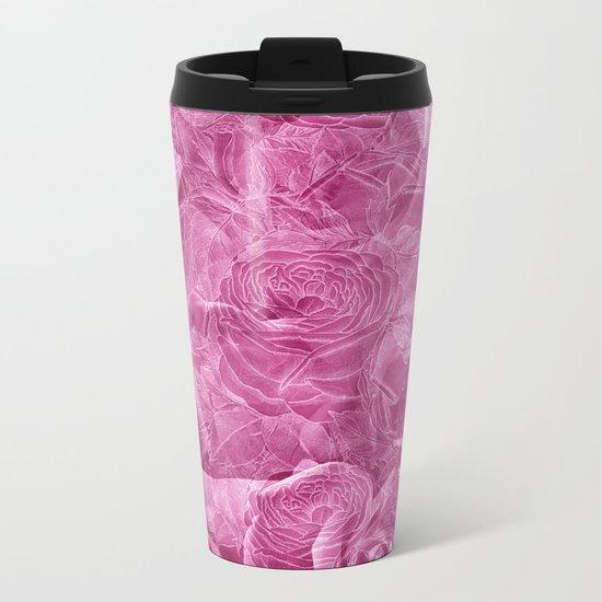 Nostalgia 3 - Pink Metal Travel Mug