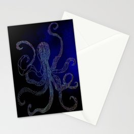 split octo personalities Stationery Cards
