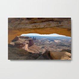 Mesa Arch Metal Print