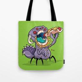 Om Nom Alien Bug Tote Bag
