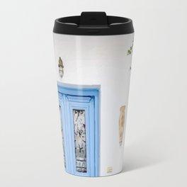 Greece house Travel Mug