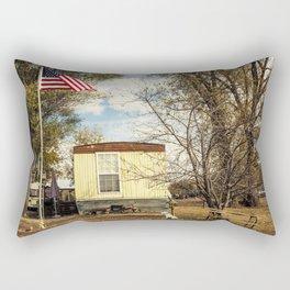 By The Riverside #7 Rectangular Pillow