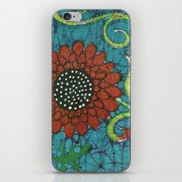 Kate's Flower Batik iPhone Skin