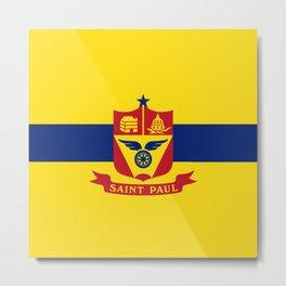 flag of Saint Paul Metal Print