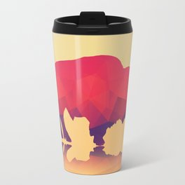 Geometric buffalo Travel Mug
