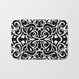 Kaleidoscope Black&White Bath Mat