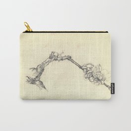 Blossoming branch Carry-All Pouch