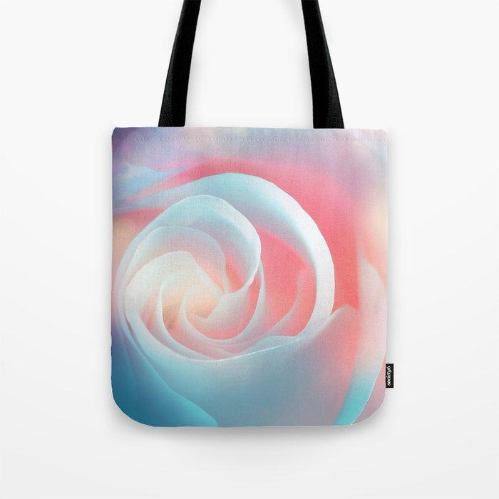 Rose flower and bokeh- Roses Tote Bag
