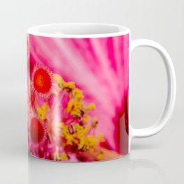 Pink Hibiscus Up Close Coffee Mug
