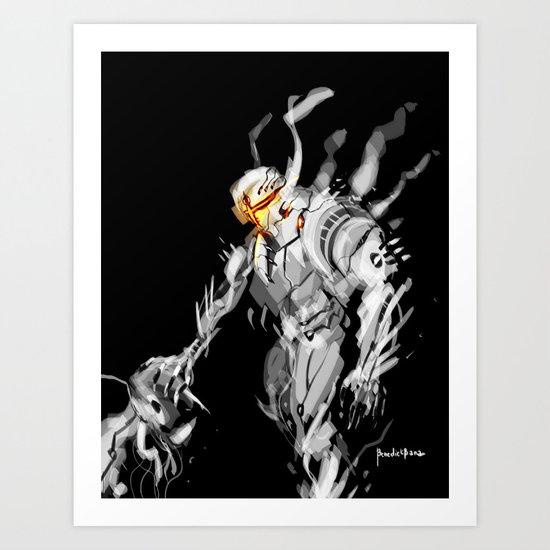 God Ares Art Print
