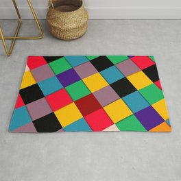 fool color pattern  Rug
