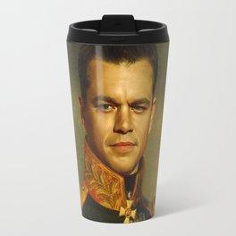 Matt Damon - replaceface Travel Mug